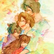 Ookami Kodomo no Ame to Yuki manga vol